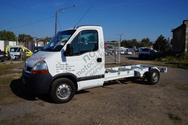 Dodávka Renault Master 2.5DCi - podvozek