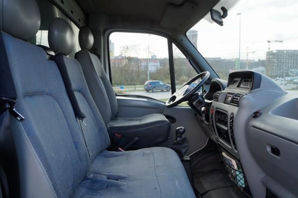 Dodávka Renault Mascott 130dxi valník 12 PALET plachta spaní - 10
