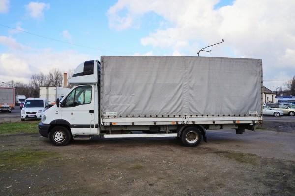 Dodávka Renault Mascott 130dxi valník 12 PALET plachta spaní - 7