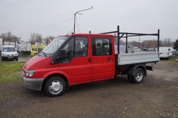 Bazar Ford Transit 2.4TDCI/88kw 6 míst valník Dvoumontáž!