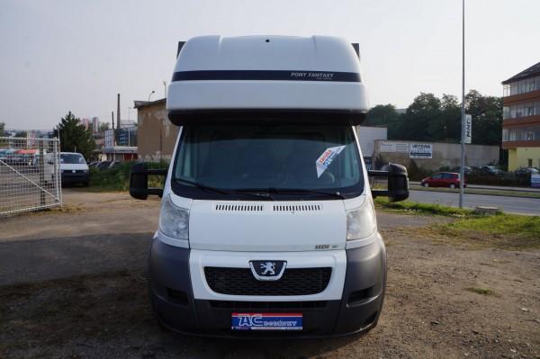 Dodávka Peugeot Boxer 3.0hdi valník 4,2m plachta spaní mìchy - 1