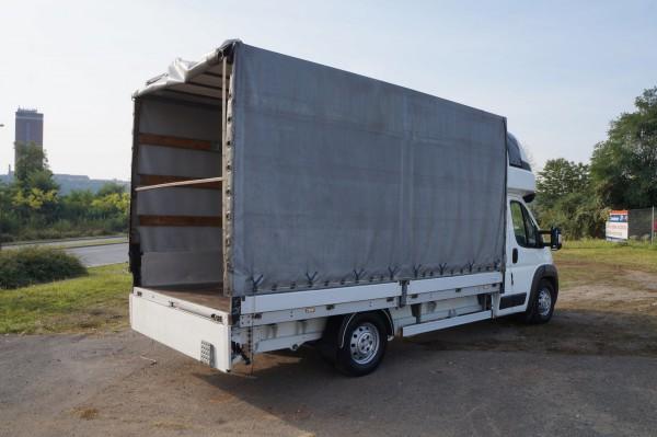 Dodávka Peugeot Boxer 3.0hdi valník 4,2m plachta spaní mìchy - 21