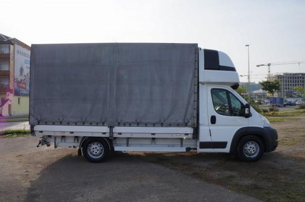 Dodávka Peugeot Boxer 3.0hdi valník 4,2m plachta spaní mìchy - 3