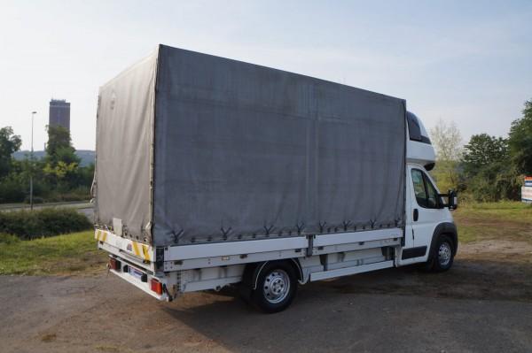 Dodávka Peugeot Boxer 3.0hdi valník 4,2m plachta spaní mìchy - 4