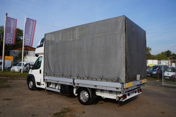 Dodávka Peugeot Boxer 3.0hdi valník 4,2m plachta spaní mìchy - 6