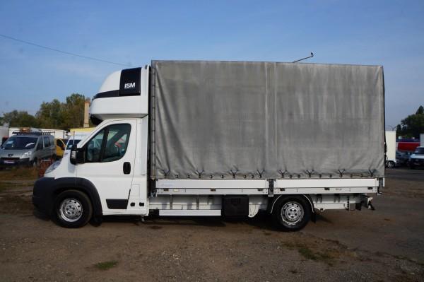 Dodávka Peugeot Boxer 3.0hdi valník 4,2m plachta spaní mìchy - 7