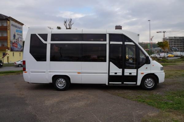 Dodávka Peugeot Boxer Q-BUS 2.5d 16+1 míst - 3