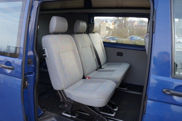 Dodávka Volkswagen Transporter 2.5tdi/96kw 4 MOTION klima - 16