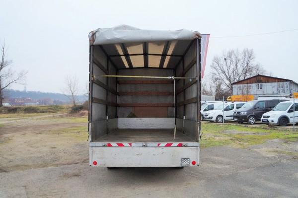 Dodávka Peugeot Boxer 2.2HDI/88kw valník 8 PALET plachta spaní - 18