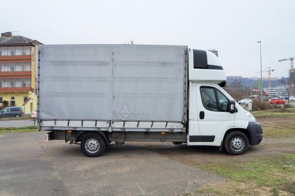 Dodávka Peugeot Boxer 2.2HDI/88kw valník 8 PALET plachta spaní - 3