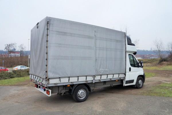 Dodávka Peugeot Boxer 2.2HDI/88kw valník 8 PALET plachta spaní - 4