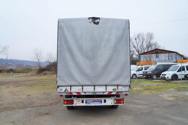 Dodávka Peugeot Boxer 2.2HDI/88kw valník 8 PALET plachta spaní - 5