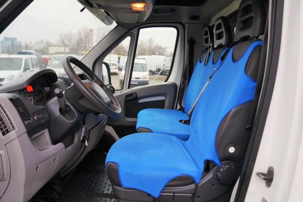 Dodávka Peugeot Boxer 2.2HDI/88kw valník 8 PALET plachta spaní - 8