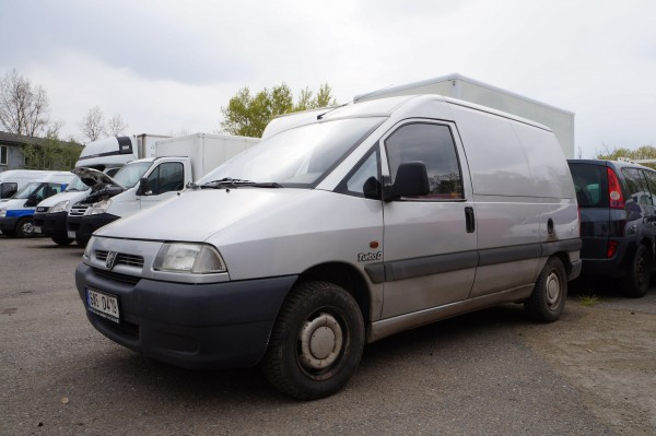 Peugeot-furgon